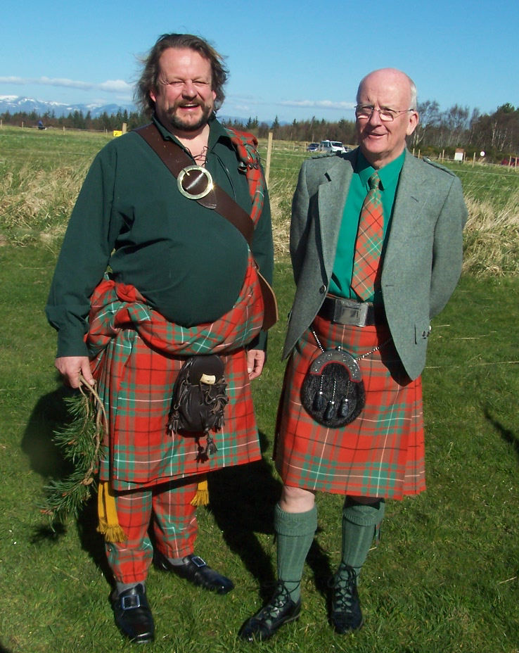 Walter & Hector at Culloden